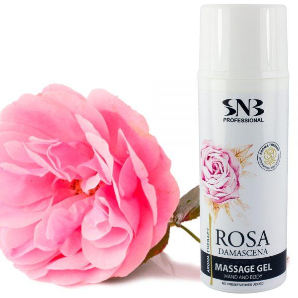 Масажен гел за ръце и тяло с роза Дамасцена
