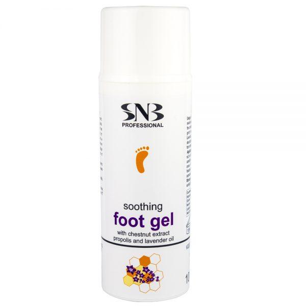 Успокояващ гел за крака с лавандулово масло и прополис